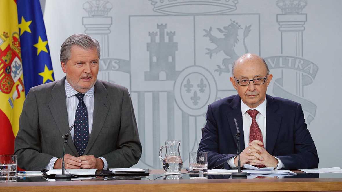 El Gobierno asume el pago de los servicios básicos de la Generalitat para evitar desvíos al 1-O