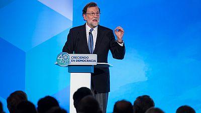 """El presidente del Gobierno insiste: """"No habrá referéndum, no lo habrá"""""""