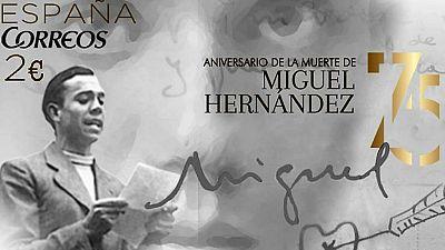 Correos dedica al poeta Miguel Hernández su nuevo sello