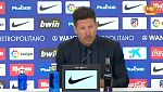 "Simeone: ""La salida al estadio ha sido tremenda"""