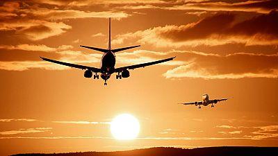 En el aeropuerto de Teruel funciona el aparcamiento de aviones más grande de Europa