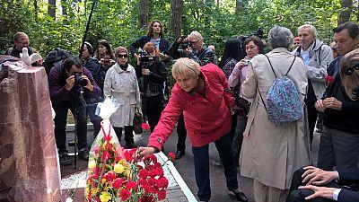 """Un grupo de """"niños de la guerra"""" vuelve a Rusia para conmemorar el 80 aniversario de su llegada"""