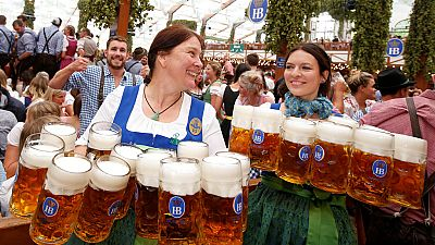 Millones de personas en el primer fin de semana del Oktoberfest