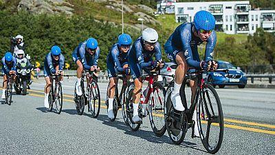 Ciclismo - Campeonato del Mundo en Carretera. Contrarreloj Femenina por Equipos, desde Bergen - ver ahora