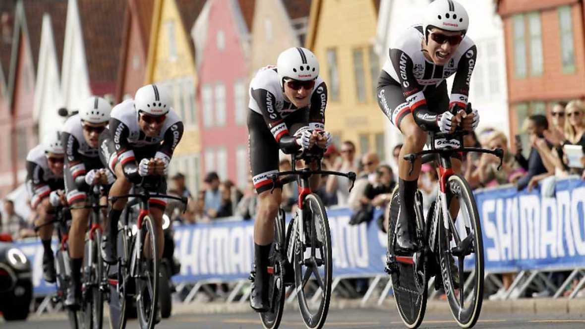 Ciclismo - Campeonato del Mundo en Carretera. Contrarreloj Masculina por Equipos, desde Bergen - ver ahora