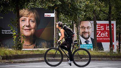 Todos los sondeos son favorables a la CDU de Angela Merkel