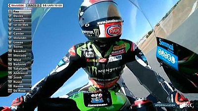 Motociclismo - Campeonato del Mundo Superbike. WSBK 2ª Carrera, prueba Algarve (Portugal) - ver ahora