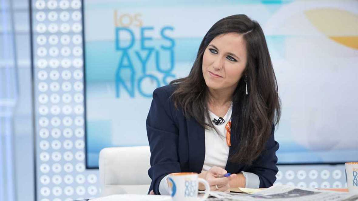 Los desayunos de TVE - Ione Belarra, portavoz adjunta de Unidos Podemos en el Congreso - ver ahora