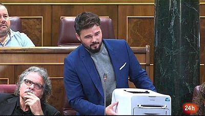 Parlamento - El foco parlamentario - Cataluña en los plenos - 16/09/2017