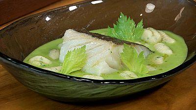 Torres en la cocina - Bacalao en salsa verde