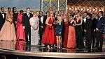 Entrega en Los Ángeles de los Emmy, los prestigiosos premios de la televisión en Estados Unidos