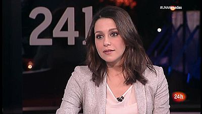 Arrimadas insiste en que PP y PSC se sumen a una moción de censura contra Puigdemont