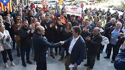Los tres primeros alcaldes citados como investigados por colaborar con el referéndum independentista se niegan a declarar