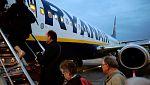 Ryanair continúa con las cancelaciones de muchos de sus vuelos en toda Europa