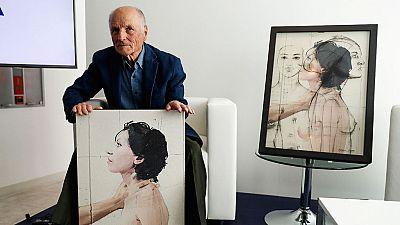 """El pintor Antonio López presenta su primer libro de artista, """"Cuerpos y flores"""""""