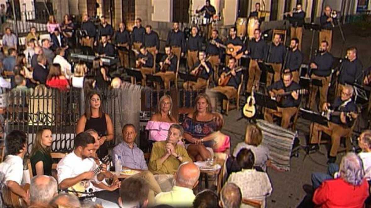 Tenderete - 17/09/2017 desde la Villa de Teror con el grupo Beletén, el timplista Derque Martín  y varios solistas.