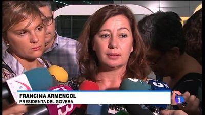 Armengol considera que s'ha traspassat la línia vermella amb les detencions de Catalunya