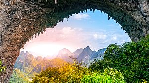 Memorias de piedra: China, cuando las montañas se pintaban