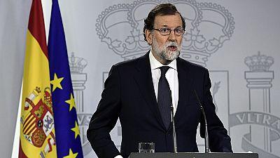 Declaración institucional de Mariano Rajoy sobre el 1-O