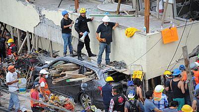 32 niños mueren al derrumbarse una escuela en la Ciudad de México