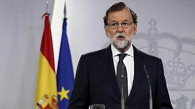 """Rajoy, a los independentistas: """"Abandonen sus propósitos, saben que este referéndum ya no se puede celebrar"""""""