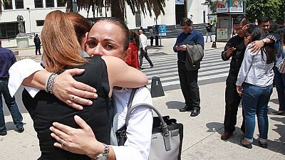 """Los españoles que viven en México: """"El sentimiento era que la tierra se iba a abrir"""""""