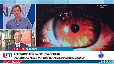 Afectados por la cirugía ocular