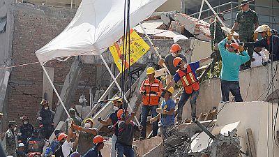 Terremoto en México - Carrera contra reloj para salvar a los supervivientes