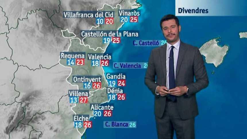 El tiempo en la Comunidad Valenciana - 21/09/17