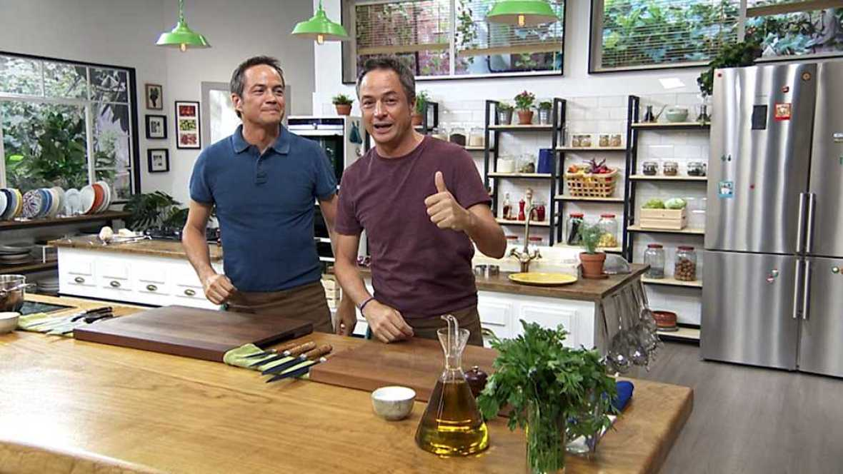Torres en la cocina - Tartar de remolacha y bacalao en salsa verde - ver ahora