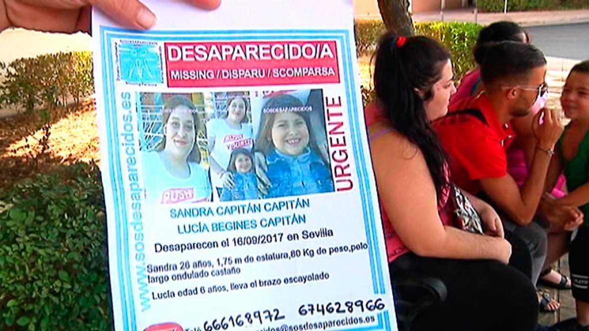 Desaparecida una mujer embarazada, de 26 años, y su hija, de 6, en Sevilla