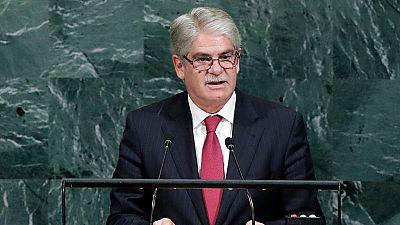 Dastis critica en la ONU a quienes dejan en segundo plano la Constitución
