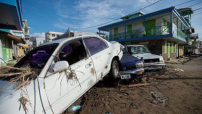 El huracán María provoca numerosos destrozos en la República Dominicana y Puerto Rico
