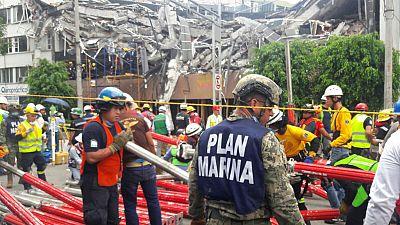 México intensifica a contrarreloj la búsqueda de supervivientes