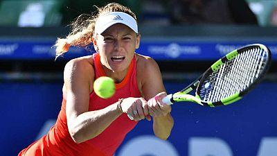 Tenis - WTA Torneo Tokio (Japón)2ª Semifinal G.Muguruza - C.Wozniacki - ver ahora