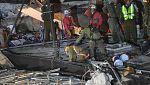 Así se encuentra la situación en varios edificios tras el terremoto de México