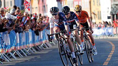 Ciclismo - Campeonato del Mundo. Carretera en Ruta Élite Femenina desde Bergen - ver ahora