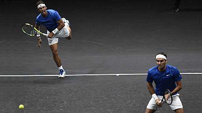 Tenis - Laver Cup 2017 desde Praga Dobles: R. Nadal / R.Federer - S.Querrey/ J. Sock - ver ahora
