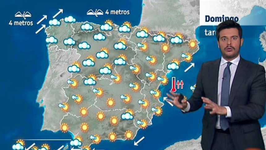 Lluvias en Galicia y Asturias y calor veraniego en el resto del país