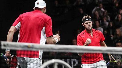 Tenis - Laver Cup 2017 Primer partido desde Praga: Dobles: T.Berdych/M.Cilic - J.Sock/J.Isner - ver ahora