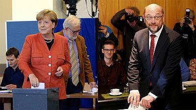 Merkel se perfila como vencedora en las elecciones alemanas