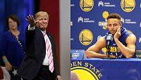 Trump retira la invitación a la Casa Blanca a los Warriors