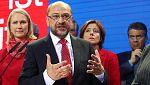 Schulz reconoce la derrota histórica del SPD y anuncia el fin de la coalición con Merkel