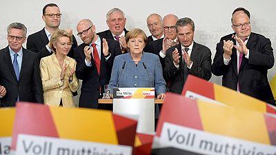 Merkel gana las elecciones en Alemania pero pierde votos respecto a 2013