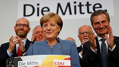 """Merkel: """"Somos el partido más fuerte, hemos recibido la misión de formar gobierno y vamos a hacerlo"""""""
