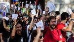 ANC y Òmnium reparten más de un millón de papeletas para votar en el referéndum del 1-O