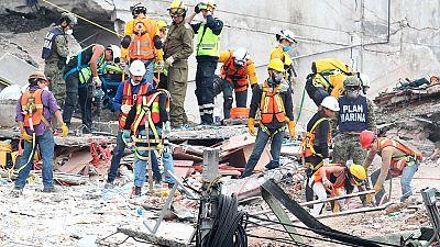 Ya son 319 las víctimas mortales en el terremoto en México