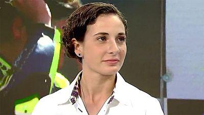 """Ana Carrasco: """"El año que viene quiero luchar por el campeonato del mundo"""""""