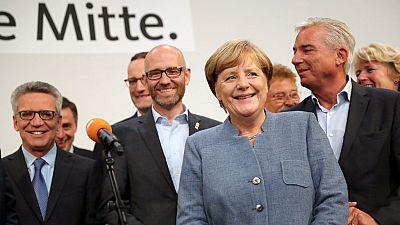 Angela Merkel gana las elecciones en Alemania con el 33% de los votos