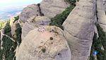 La sardana Tiana a un cim de Montserrat